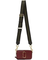 Marc Jacobs Red Snapshot Camera Bag - Multicolour