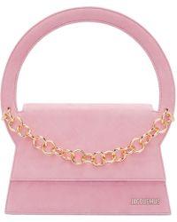 Jacquemus - Pink 'le Sac Rond' Bag - Lyst