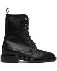 Thom Browne オンライン限定 ブラック ブーツ