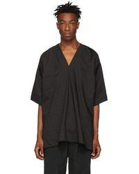 Jan Jan Van Essche Black Tunic Shirt