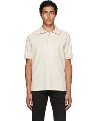Dunhill オフホワイト Ss ポロシャツ - マルチカラー