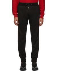 Paul Smith - Black Wool Lounge Pants - Lyst