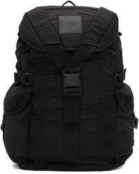 Y-3 Black Ch2 Utility Backpack