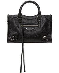 Balenciaga - Black Classic Nano City Bag - Lyst