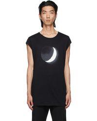 Ann Demeulemeester Black Moon T-shirt