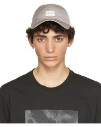 Rag & Bone Addison Baseball Cap Recycled Materials Hat - Grey