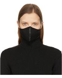 Tom Ford ブラック ロゴ フェイス マスク