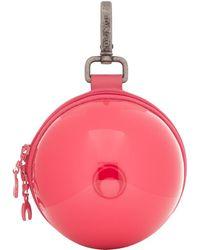 Marine Serre ピンク マイクロ ボール バッグ