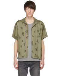 John Elliott - Green Joshua Tree Bowling Shirt - Lyst