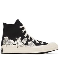 Converse Scooby-doo Edition ブラック Chuck 70 ハイ スニーカー メンズ