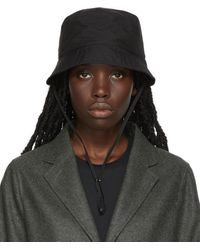 Norse Projects Gore-tex Bucket Hat - Black