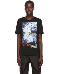 Versace Richard Avedon Edition ブラック Blonde T シャツ