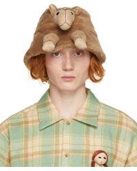Doublet Chapeau brun en fourrure - Marron