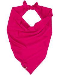 Jean Paul Gaultier Ssense Exclusive Pink Les Marins Piercing Scarf