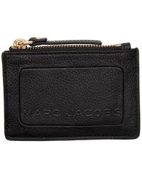 Marc Jacobs Top Zip Multi Wallet - Black