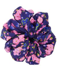 Marc Jacobs The Scrunchie Floral - Blue