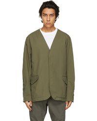Nonnative Khaki Cordura® Trooper 3b Jacket - Green