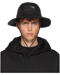 Y-3 Black Adizero Bucket Hat