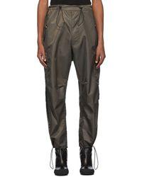 Random Identities Pantalon cargo brun Berlin Baggies - Multicolore