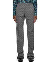 Givenchy Pantalon gris 90's Fit Chain