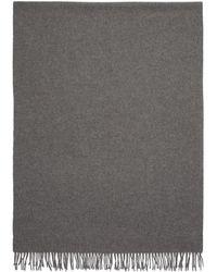 A.P.C. グレー Poslka スカーフ