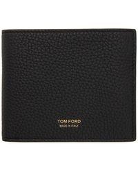 Tom Ford - ブラック バイフォールド ウォレット - Lyst