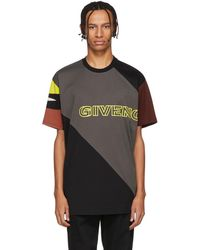 Givenchy - Black Sporty Printed Oversized T-shirt - Lyst