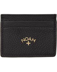 Noah ブラック カード ケース