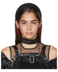 Sophie Buhai Black Classic Puffy Headband