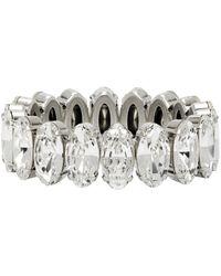 Isabel Marant Bracelet argenté Crystal - Métallisé