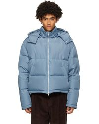 Second/Layer Blue Down Puffer Jacket