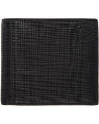 Loewe Portefeuille a deux volets noir Linen