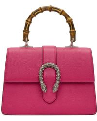 3c10dbd4ca6 Gucci Multicolor Large Dionysus Bag in White - Lyst