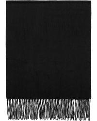 Won Hundred - Black Stamford Wool Scarf - Lyst