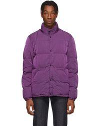 Holubar Purple Down New Mike Jacket