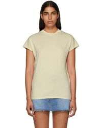 Won Hundred - White Proof Acid Cap Sleeve T-shirt - Lyst