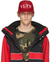 Valentino - Red Garavani Vltn Cap - Lyst