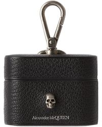 Alexander McQueen Skull Airpods Pro Case - Black