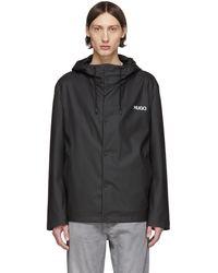 HUGO ブラック Belnus2021 ジャケット
