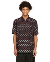 Dolce & Gabbana - マルチカラー Geometric Print ボウリング シャツ - Lyst