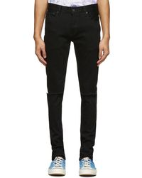Moussy Black Rebirth Skinny Jeans