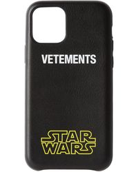 Vetements - Star Wars エディション ブラック ロゴ Iphone 11 Pro ケース - Lyst