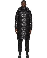 Moncler Black Down Hanoverian Coat