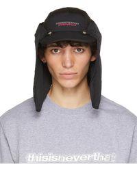 thisisneverthat Black Supplex Sun Sport Cap