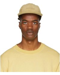 Saturdays NYC - Khaki Corduroy Russel Cap - Lyst