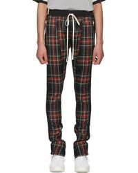 Fear Of God - Multicolour Wool Plaid Trousers - Lyst
