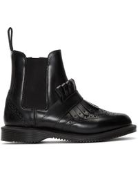 Dr. Martens - Black Tina Ankle Boots - Lyst
