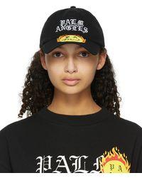 Palm Angels Smiley Edition ブラック Burning キャップ