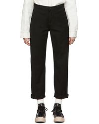 Carhartt WIP Black Pierce Pants