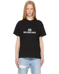 Balenciaga - ブラック Bb Pixel T シャツ - Lyst